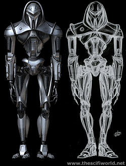 Battlestar Galactica - Cylon draft