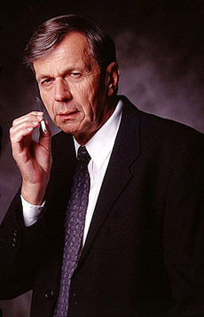 William B. Davis Interview -  The X-Files, Stargate SG-1, william b davis - Cigarette smoking man