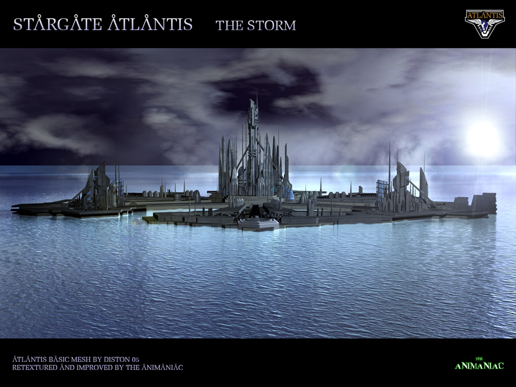 Stargate wallpapers wallpaper images TV shows sci-fi Atlantis