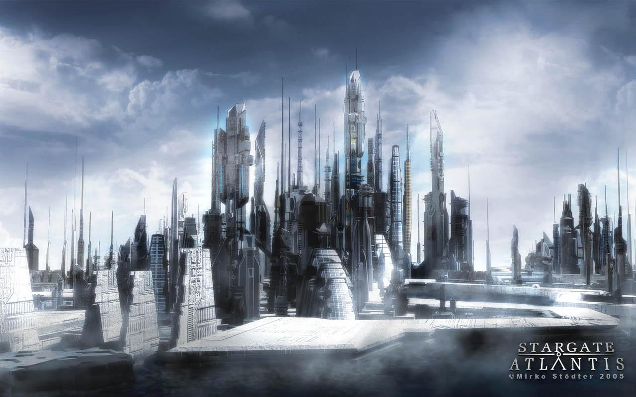 Atlantis Hd Wallpaper